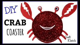 Whimsical Crab Coaster DIY  Another Coaster Friday