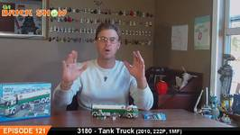 LEGO City Tank Truck Review - LEGO 3180