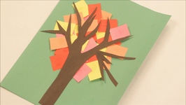 Paper Collage Tree