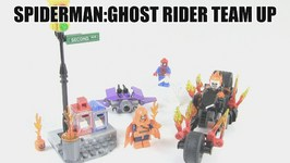 LEGO Marvel Superheroes Spiderman - Ghost Rider Team Up Review -LEGO 76058