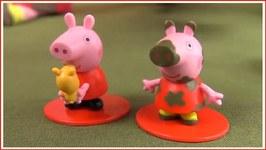 Trash Truck Toys In Eggs Peppa Pig Smurfs Chup.