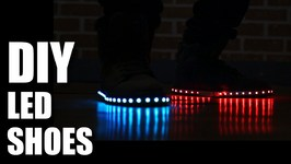 Mad Stuff With Rob - How To Make LED Shoes- New Years Special