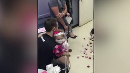 4-Year-Old Cancer Patient Marries Her Favorite Nurse In Viral Video