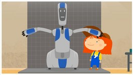 Children's Cartoons  Dr McWheelie And Handy Her Robot Helper (Created On A 3D Printer) Car Doctor