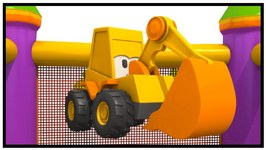 Excavator Max's Shoe Cartoons  Magic Roundabout Toys And Trucks