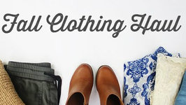 Fall Wardrobe Clothing Haul