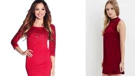 Red Hot Holiday Dresses Too Cute To Pass Up