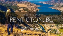 Helicopter Flight over Penticton, BC