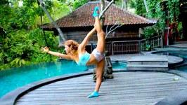 Dyamfit Yoga Socks in Bali