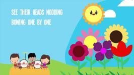 Kites song for kids five little kites song lyrics for children five little flowers song and lyrics for k mightylinksfo Image collections