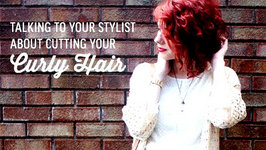 Talking to Your Stylist About Cutting Your Curly Hair