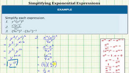Simplify Compound Exponential Expressions 1