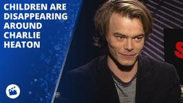 What is Charlie Heaton's creepy 'happy coincidence'?