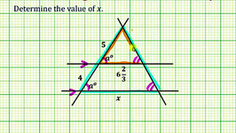 Ex: Use Properties of Parallel Lines and Similar Triangles To Determine a Length