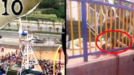 10 Freakiest Amusement Park Accidents - Twisted Tens - 10