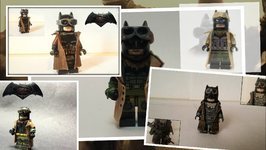 8 Mind Blowing Custom LEGO Knightmare Batman Minifigures