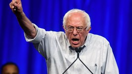 Bernie Calls Out Media Reports of Hillary Victory