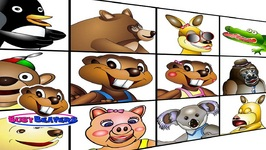 Characters Song - Level 1 English Lesson 02 - Teach Kids - Children Language Learn