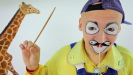 Funny Clown Videos  Clown Andrew, Om Nom And Toys  Funny Concert