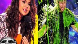Kids Choice Awards 2014 Best Moments - Selena Gomez Speech, Mark Wahlberg Slimed