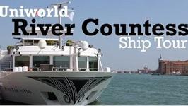 Uniworld River Countess Ship Tour