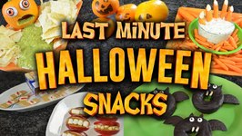9 Last-Minute Halloween Snacks You Can Make Right Now