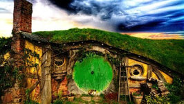 Guided Meditation - Shelter in the Hobbit Shire - (Middle Earth Meditation)