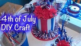 DIY Crafts - 4th of July Centerpiece - GiftBasketAppeal