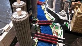 LEGO Chicago Skyline, North Loop MOC