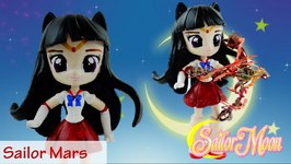 SAILOR MARS - Sailor Moon Custom Doll With My Little Pony Equestria Girls Mini DIY Tutorial