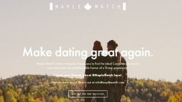 Dating Site Matches Canadians With Americans Fleeing Trump