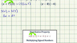 Ex : Apply the Distributive Property (Reverse Order)