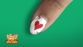 Nail Art - 7 of Heart