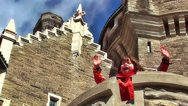 This is Emily Yeung Exploring a Castle