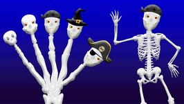 Crazy Skeleton Finger Family  Funny Skeletons finger family  Finger Family Rhymes For Children