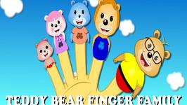 Teddy Bear Finger Family Nursery Rhyme - Finger Family Songs For Children