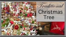 Christmas Decorating 2016  Traditional Color Christmas Tree