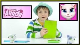 My Talking Angela Cat App - Full Demo By Adrian For Children
