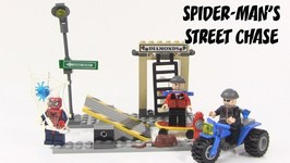 LEGO Spider-Man 2 Spider-Man's Street Chase Review - LEGO 4853