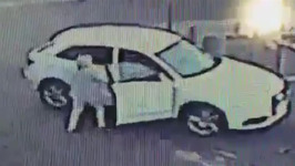 Brave Woman Fights off Guy who Tries to Steal her Car