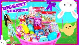 Mega Huge American Girl Surprise Basket Ever- Big Surprise Eggs Opening Toys Review