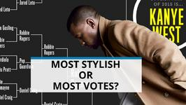 Kanye West wins GQ poll for Most Stylish Man of 2015