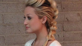 How to-Mohawk Pull through Braid