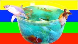 DIY SHARK Toys Slime Aquarium Fish Tank  Toy Sharks, Sea Animals, Toys and Slime  Craft Videos