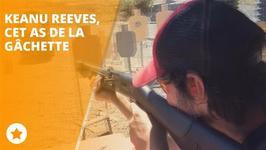 Keanu Reeves est impressionnant dans un stand de tir !