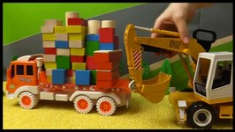 Toy Cars Demo  Captain Vroomie And Excavator Disaster  Educational Construction Videos For Kids