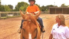 This is Daniel Cook learning to Ride a Horse
