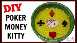 DIY Resin Poker Money Kitty or Wine Coaster  Craft Klatch How To