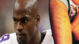 Adrian Peterson Child Abuse and Woman Rapist Charged