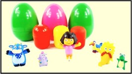 Dora The Explorer And Friends  Surprise Egg Unboxing Demo  Tico, Grumpy Old Troll, Senor Tucan, Swiper